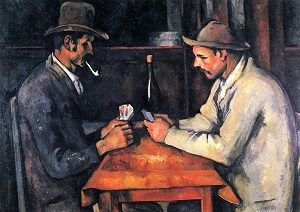 The Card Players 1892-1893 Paul Cezanne