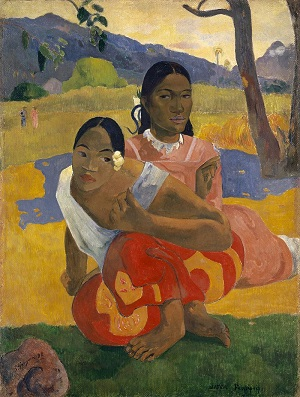 When Will You Marry? 1892 Paul Gauguin